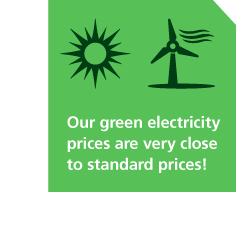 Green bakery electricity prices