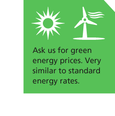 Green electricity prices