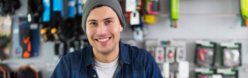 Small business electricity prices for shop owner